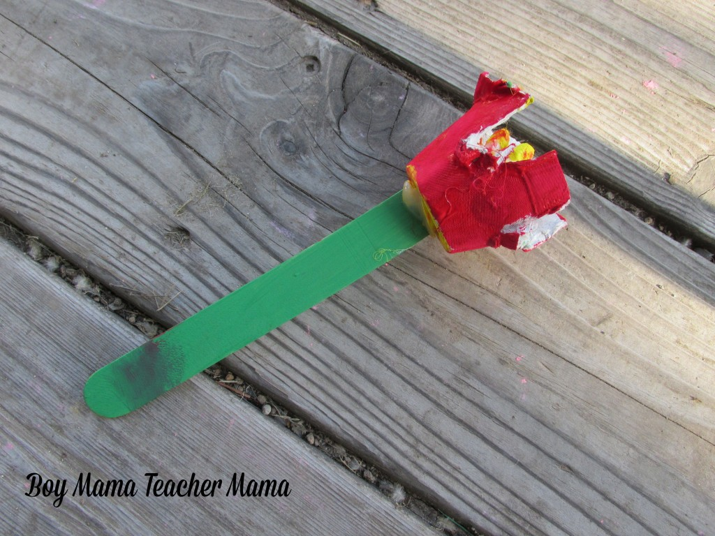 Boy Mama Teacher Mama  Egg Carton and Popsicle Stick Flowers 8.jpg
