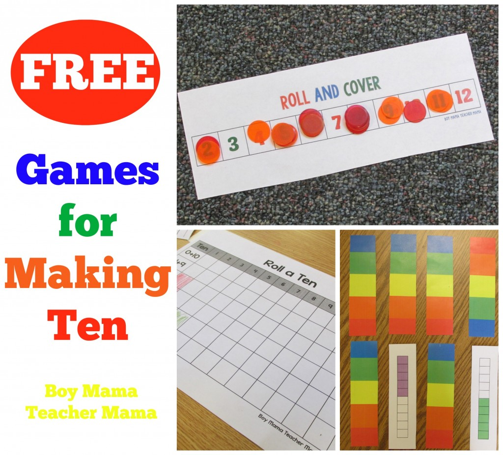 Boy Mama Teacher Mama  FREE Games for Making Ten.jpg