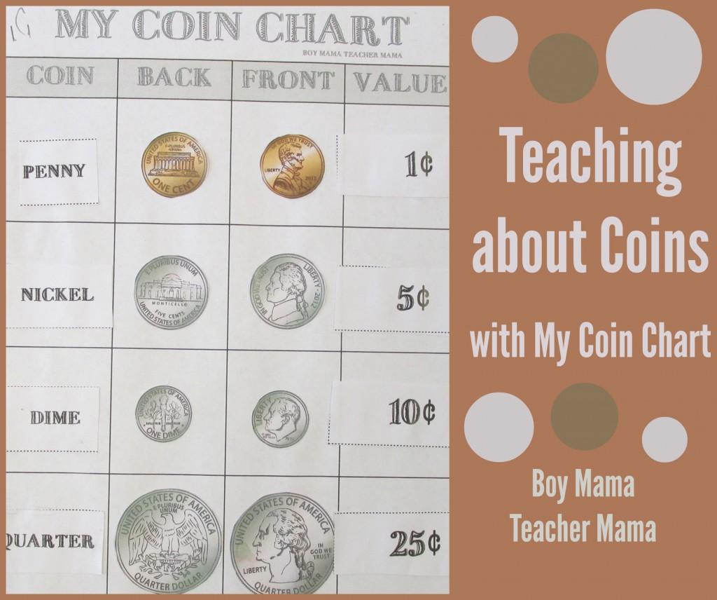 Boy Mama Teacher Mama  Teaching about Coins with My Coin Chart (featured).jpg