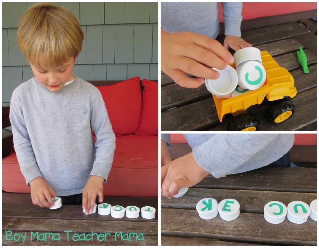 Boy Mama Teacher Mama  Dump Truck Name Spelling Game 7.jpg
