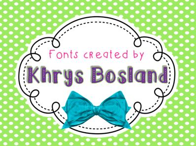 Krys Bosland Fonts