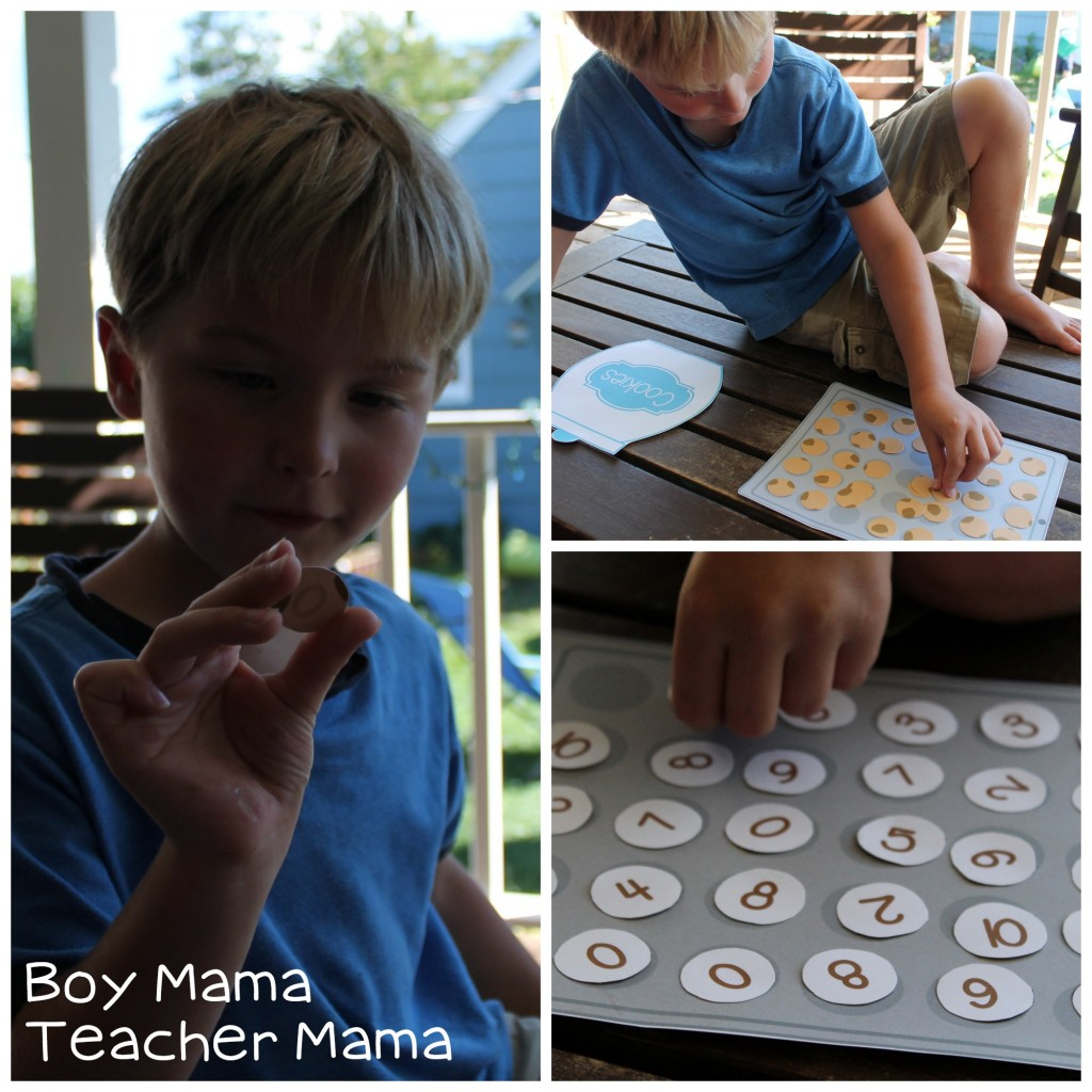Boy Mama Teacher Mama Cookie Sheet Math Fact Game 4.jpg