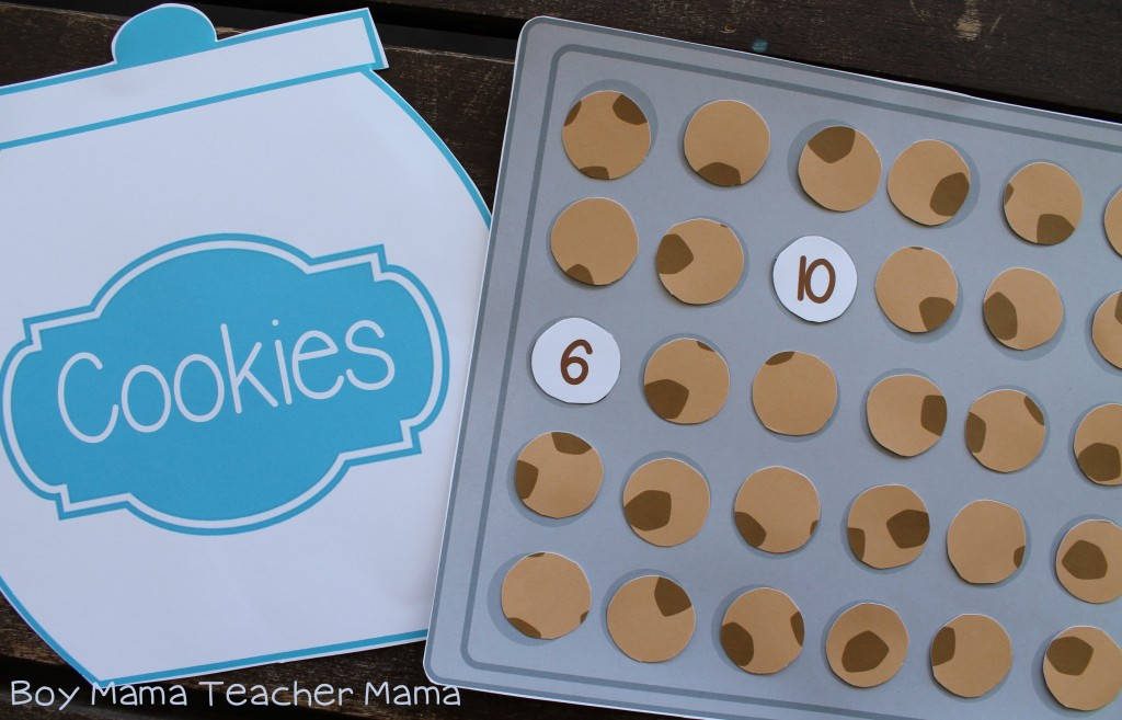 Boy Mama Teacher Mama Cookie Sheet Math Game 6.jpg