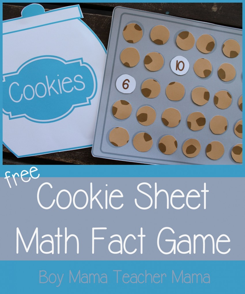 Boy Mama Teacher Mama FREE Cookie Sheet Math Fact Game (featured).jpg.jpg