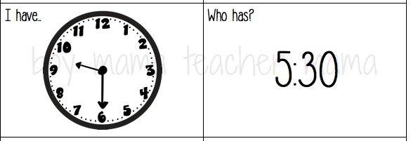 Boy Mama Teacher Mama Games that Teach Time to the Hour and Half Hour 2.jpg