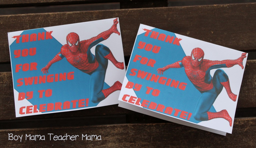 Boy Mama Teacher Mama Spiderman Birthday Party.jpg