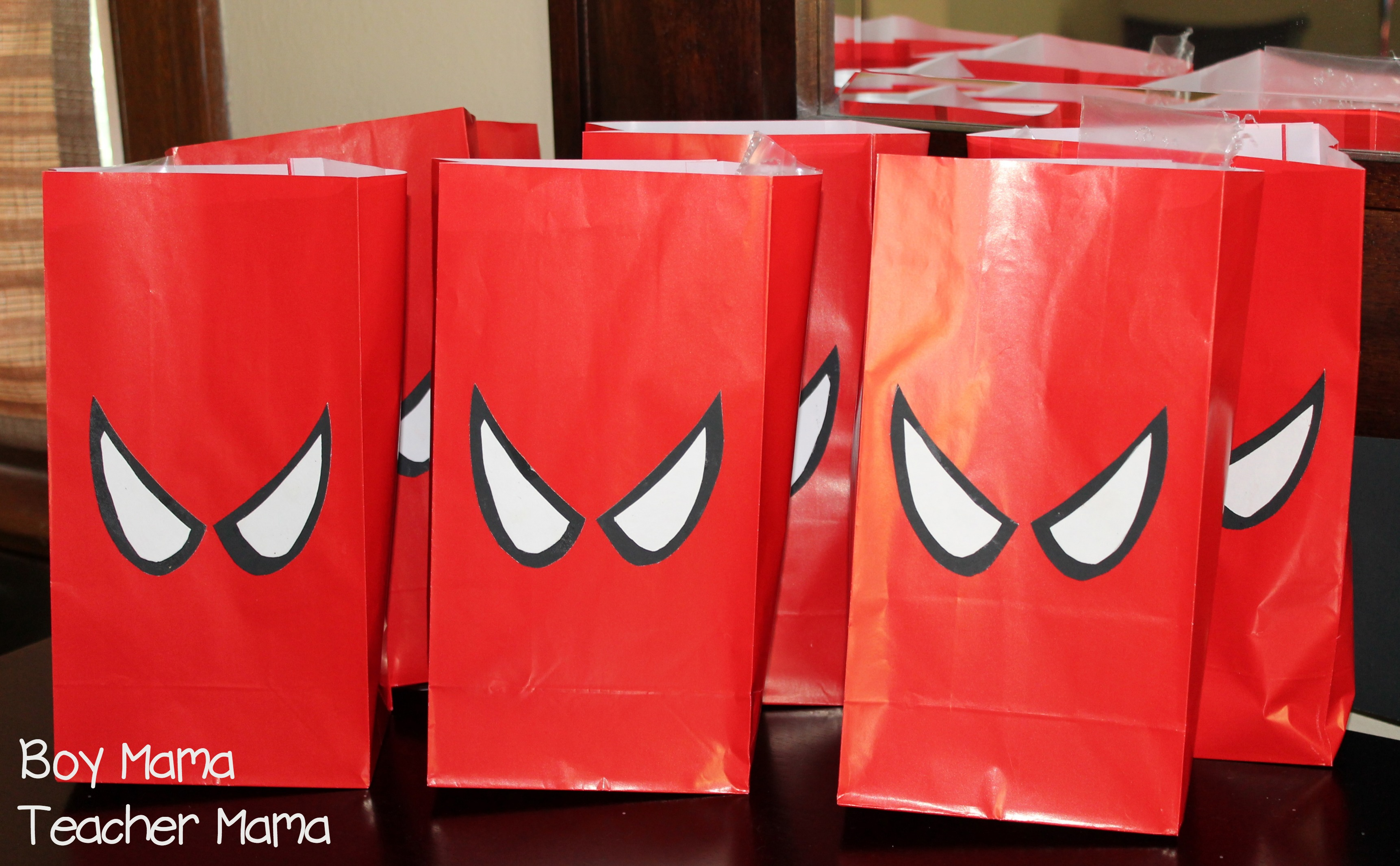 Boy Mama: Spiderman Birthday Party - Boy Mama Teacher Mama