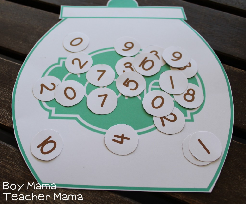 Boy Mama Teacher Mama |Cookie Sheet Math Fact Game 9.jpg