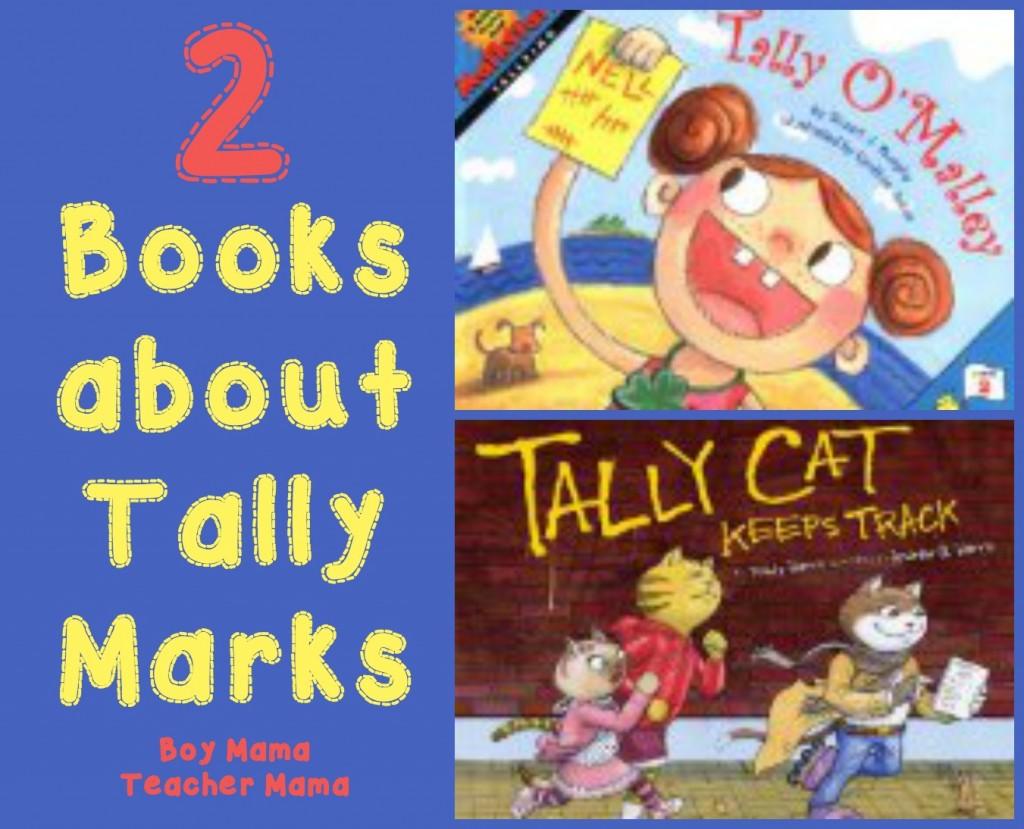 Boy Mama Teacher Mama  2 Books about Tally Marks