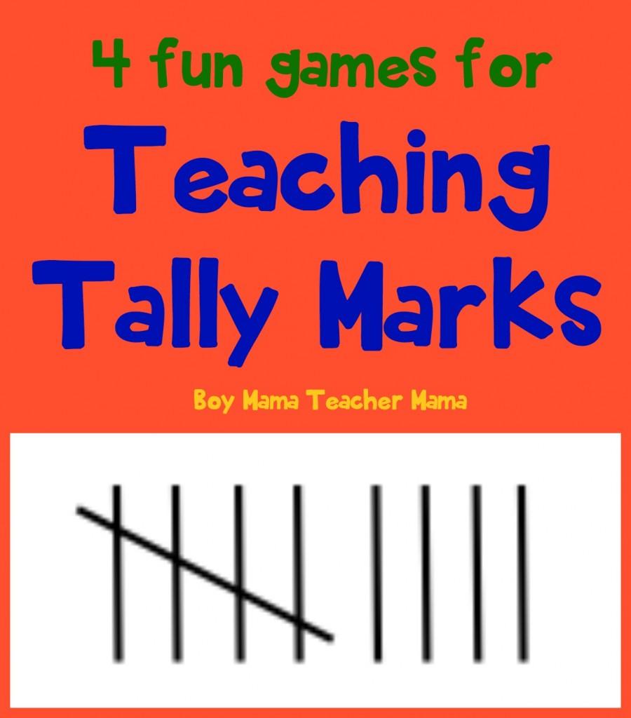 Boy Mama Teacher Mama 4 Fun Games for Teaching Tally Marks.jpg