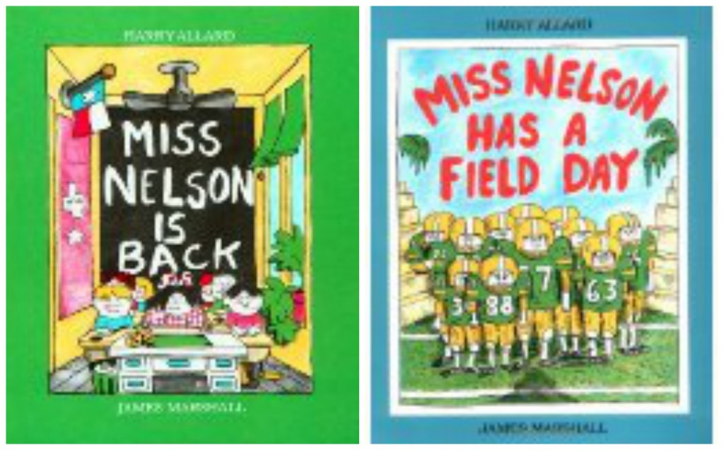 miss nelson books