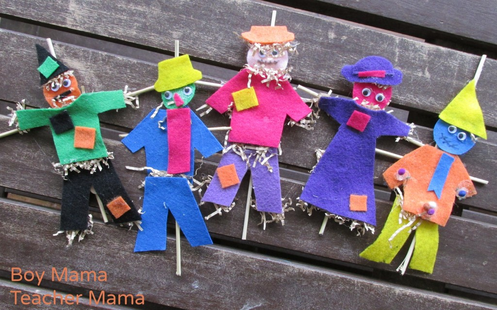 Boy Mama Teacher Mama  Five Little Scarecrows 6