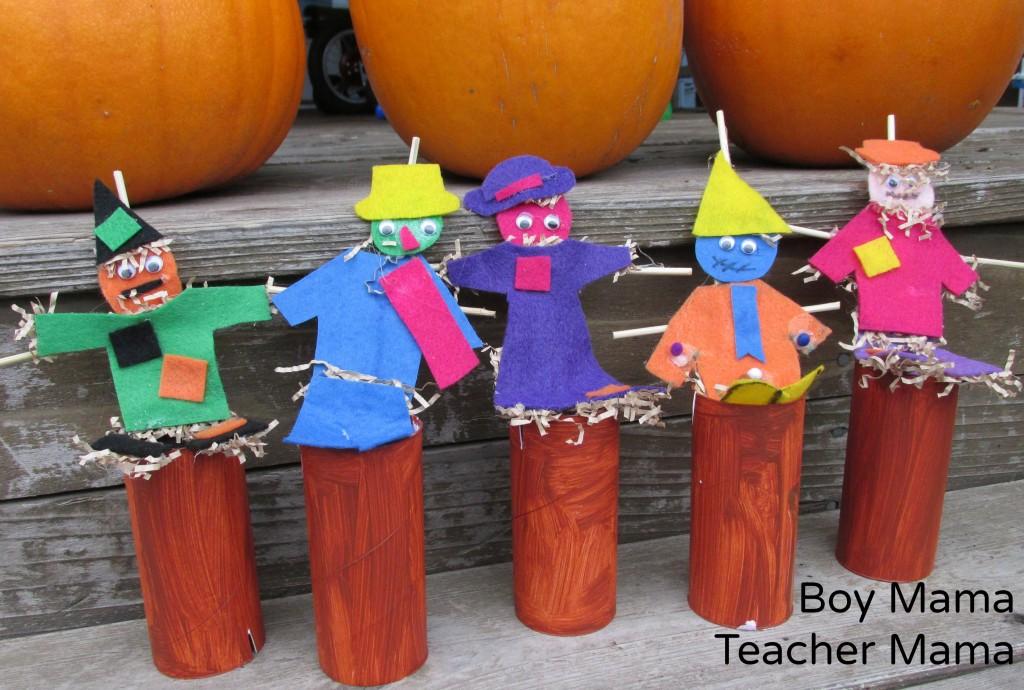 Boy Mama Teacher Mama  Five Little Scarecrows 7