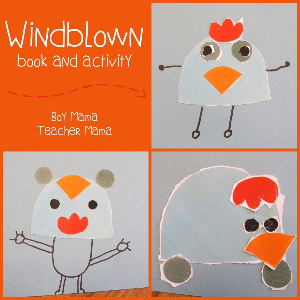 Boy Mama Teacher Mama  Windblown book and activity