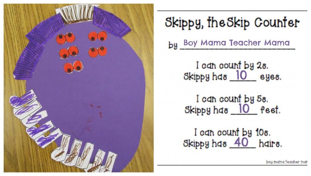 Boy Mama Teacher Mama  Skippy, the Skip Counter 6