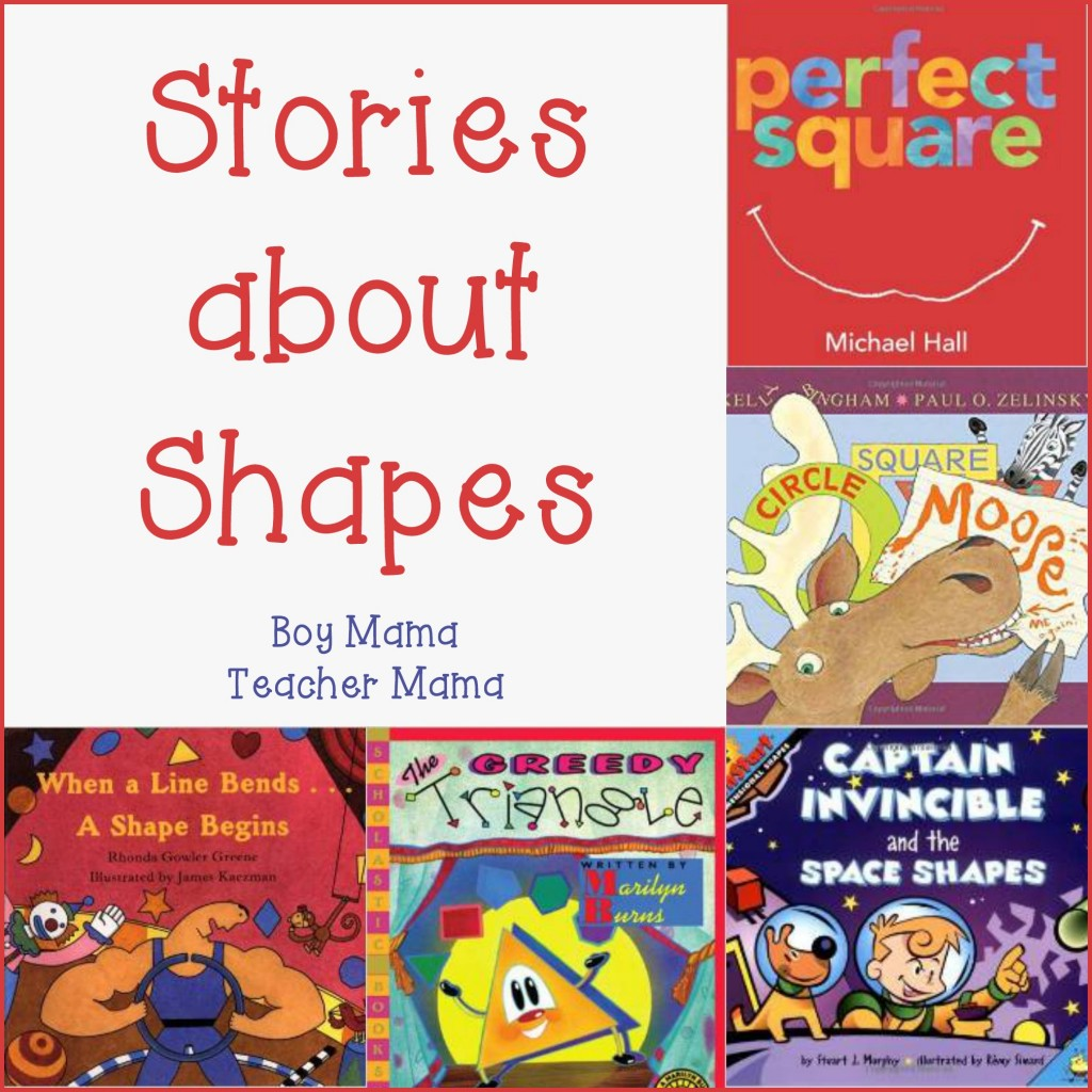 Boy Mama Teacher Mama Stories about Shapes