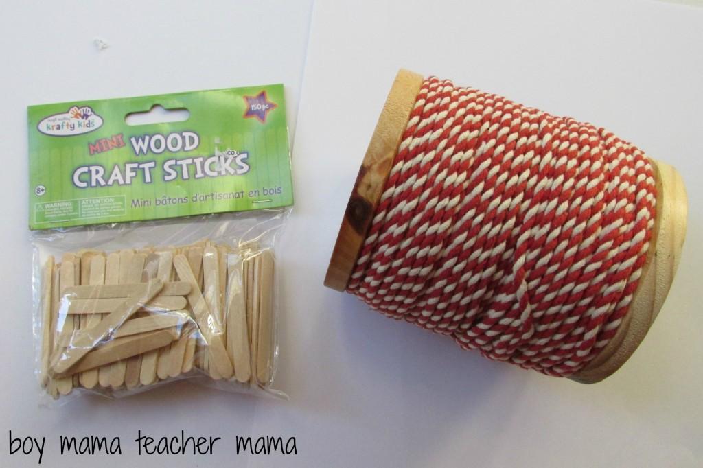 Boy Mama Teacher Mama  Popsicle Stick Sleds
