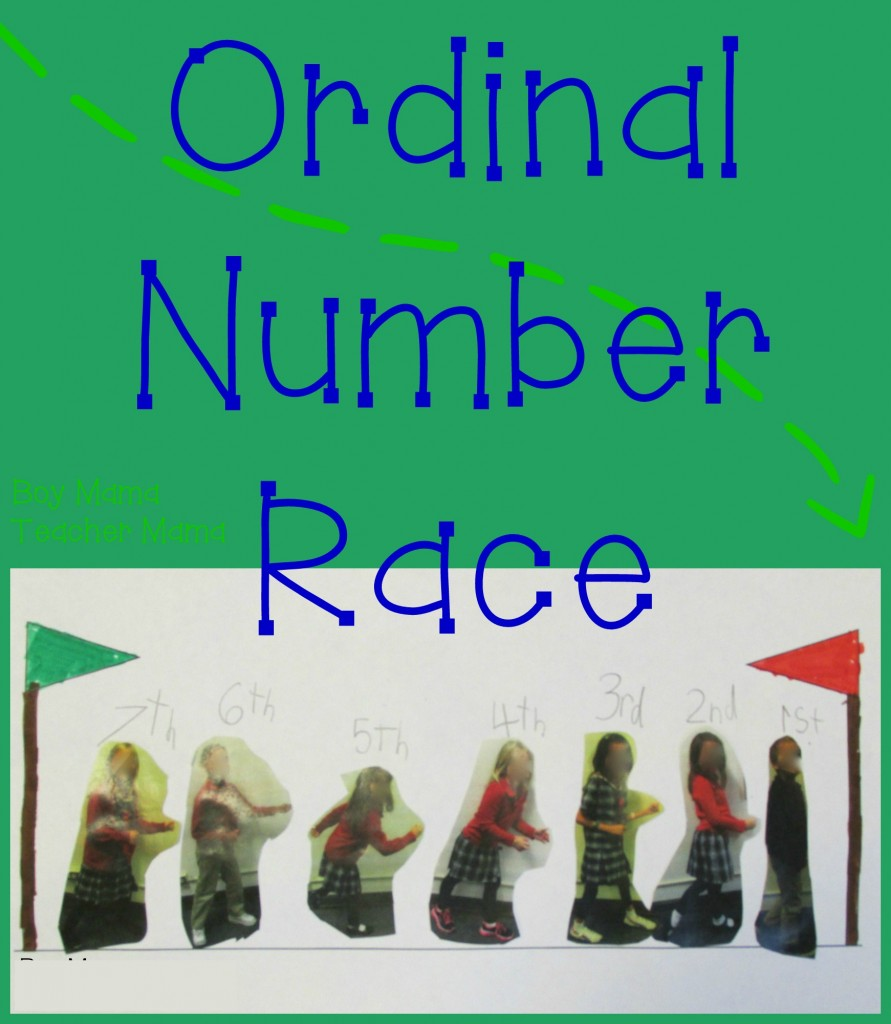 Boy Mama Teacher Mama  Ordinal Number Race (featured)