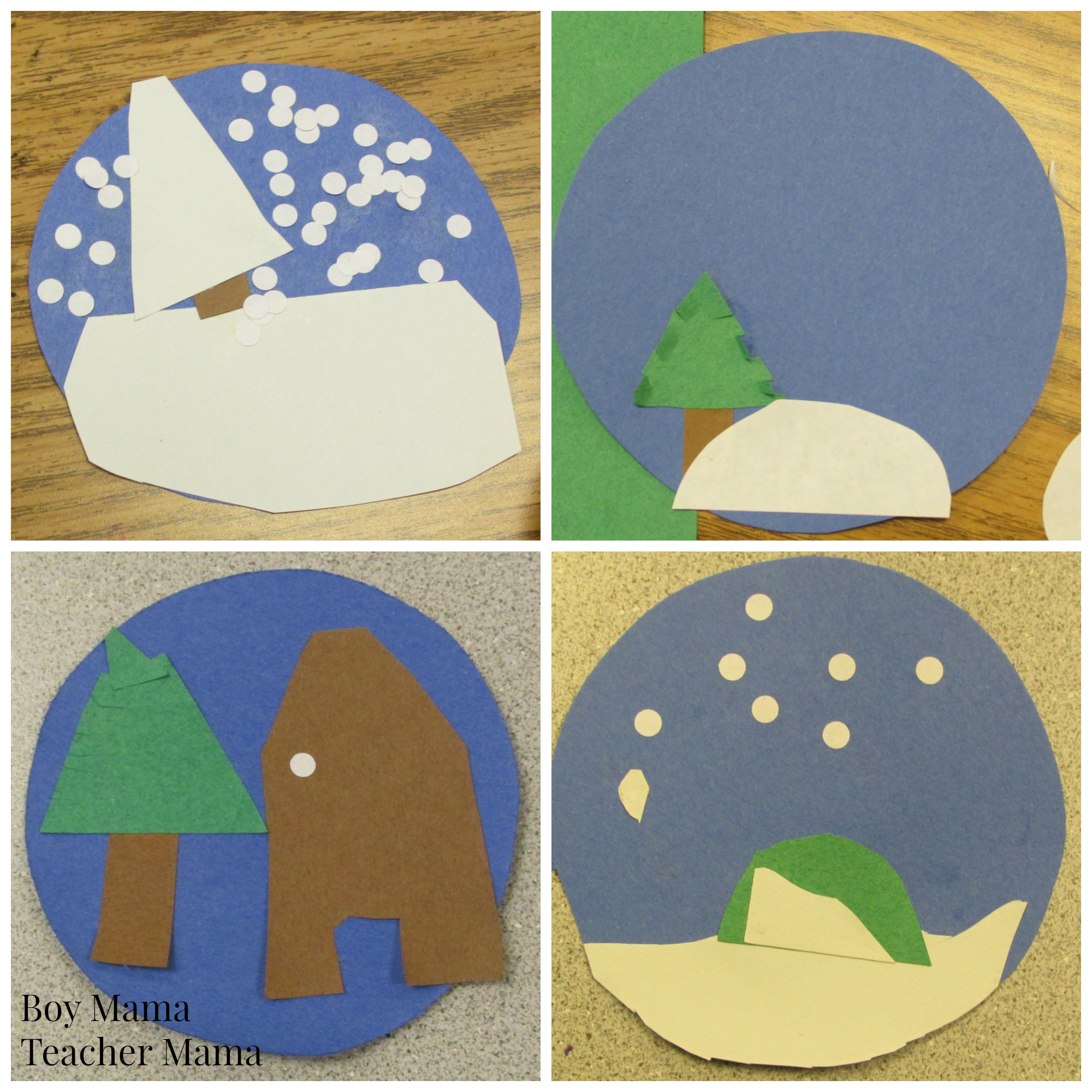 image about Printable Globes named Trainer Mama: Totally free Stuck inside of a Snow Environment Creating Printable