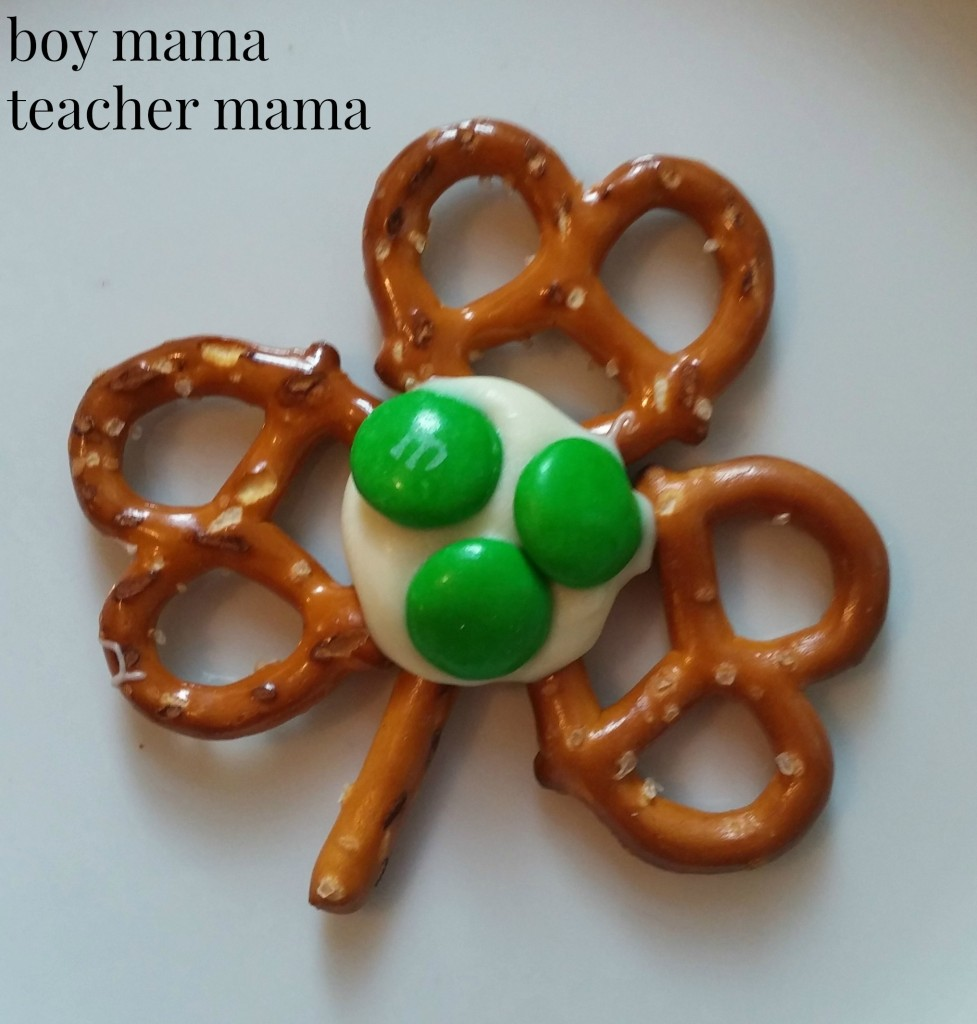 Boy Mama Teacher Mama  Shamrock Treats for St. Patrick's Day 3