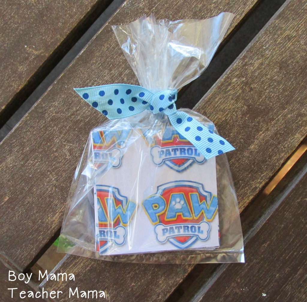 Boy Mama Teacher Mama  FREE Paw Patrol Printable Cards 5