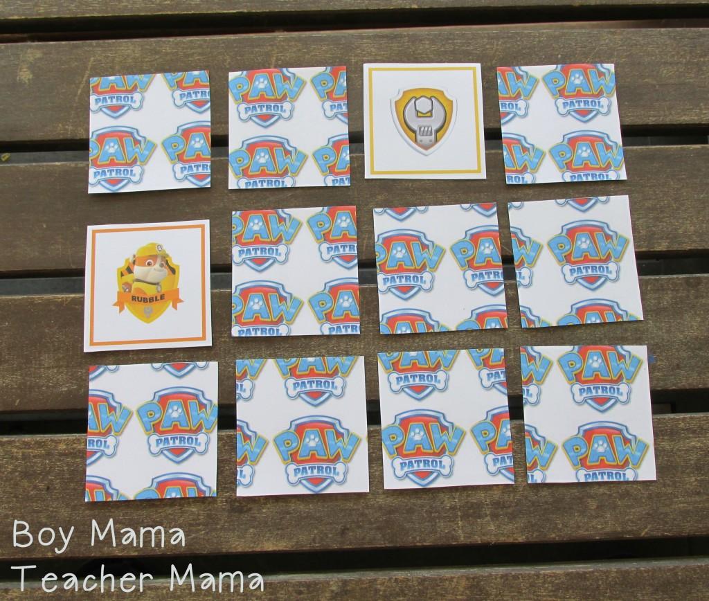 Boy Mama Teacher Mama  FREE Paw Patrol Printable CardsI 2