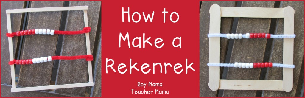 Boy Mama Teacher Mama  How to Make a Rekenrek (featured)
