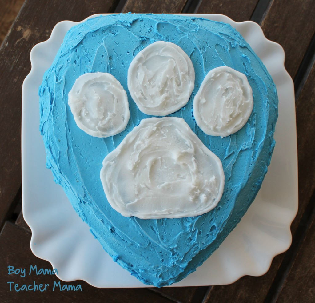 Boy Mama Teacher Mama Paw Patrol Cake 3