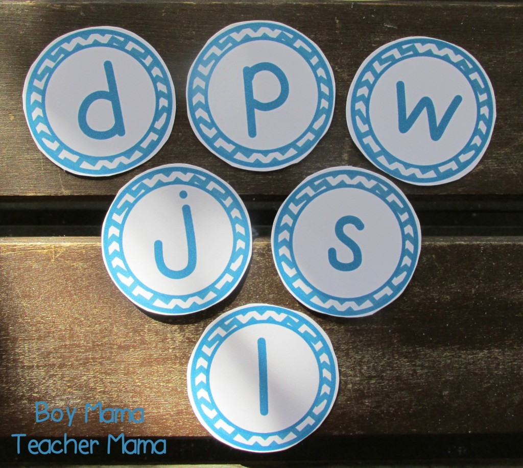 Boy Mama Teacher Mama Letter Sound Wheels 2
