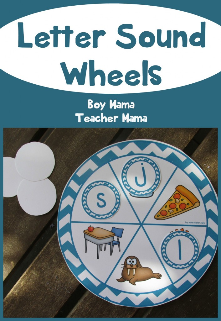 Boy Mama Teacher Mama Letter Sound Wheels (featured)