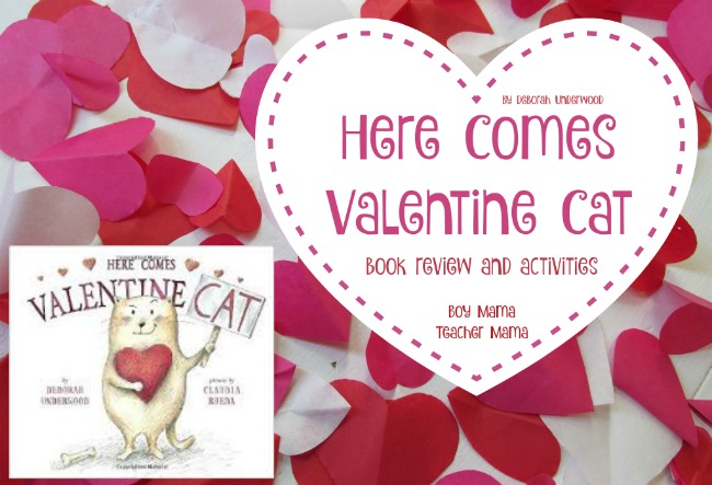 Boy Mama Teacher Mama Here Comes Valentine Cat