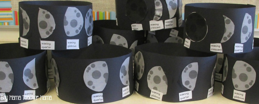 Boy Mama Teacher Mama Phases of the Moon Activity