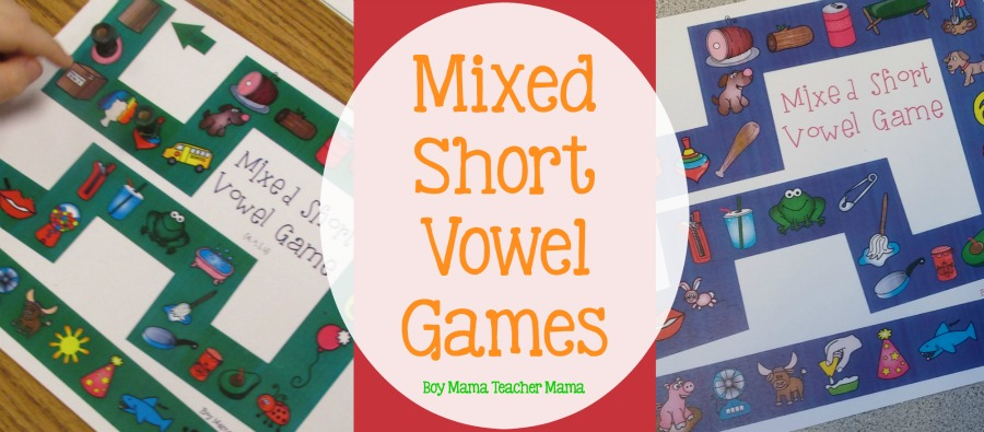 Boy Mama Teacher Mama Mixed Short Vowel Games (featured)