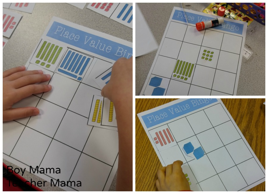 Boy Mama Teacher Mama Place Value Bingo 2