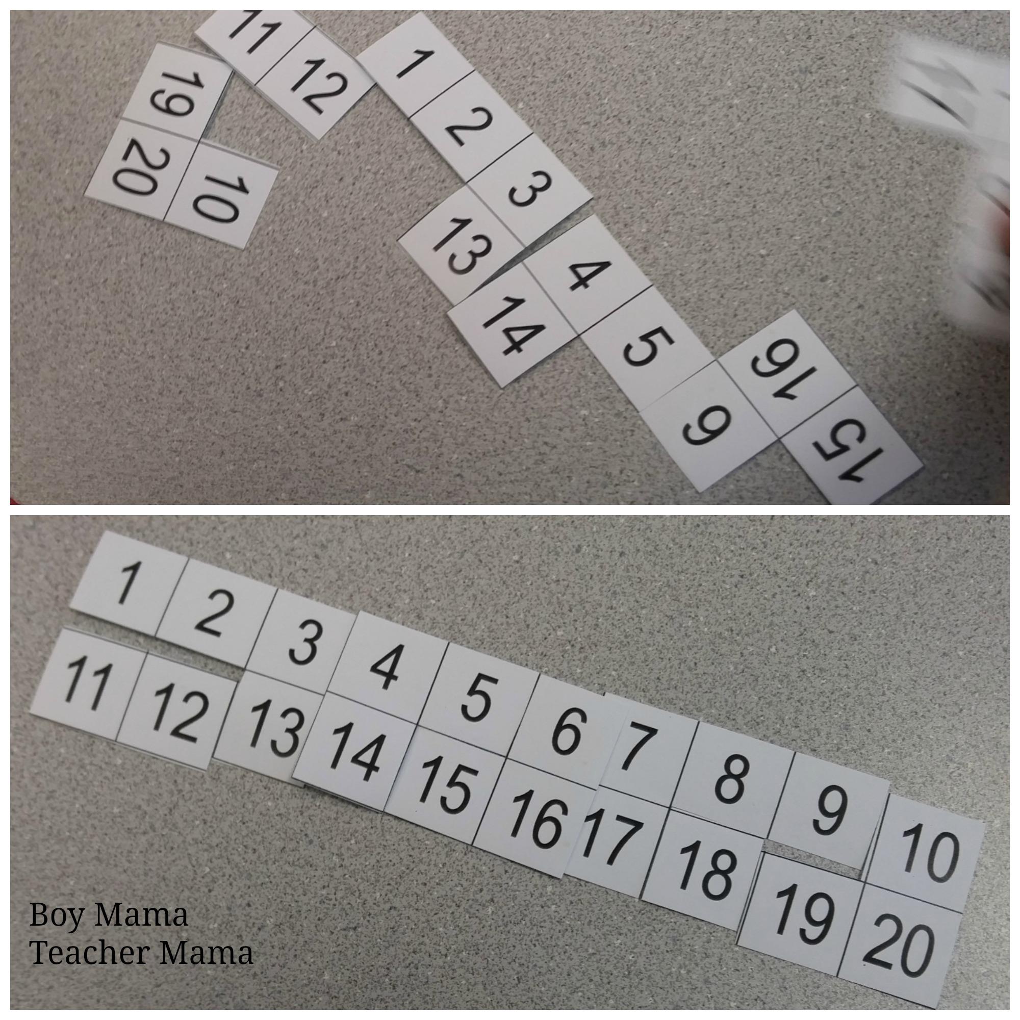 Boy Mama Teacher Mama 100s Chart Puzzles 4